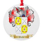 Warfe Round Ornament