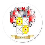 Warfe Round Car Magnet