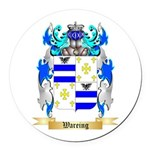 Wareing Round Car Magnet