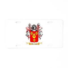 Wareham Aluminum License Plate