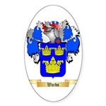 Wards Sticker (Oval 10 pk)