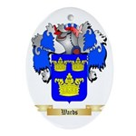 Wards Oval Ornament
