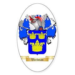 Wardman Sticker (Oval 10 pk)