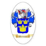 Wardman Sticker (Oval 50 pk)