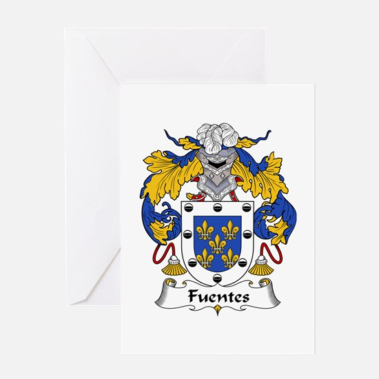 Fuentes Greeting Card