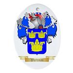 Wardman Oval Ornament