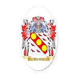 Wardley Oval Car Magnet