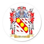 Wardley Round Car Magnet