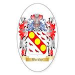 Wardley Sticker (Oval 10 pk)