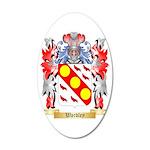 Wardley 35x21 Oval Wall Decal
