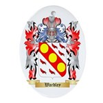 Wardley Oval Ornament