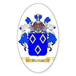Wardlaw Sticker (Oval 50 pk)