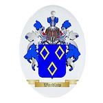 Wardlaw Oval Ornament