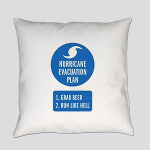 Hurricane Evacuation Plan Everyday Pillow