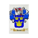 Warder Rectangle Magnet (100 pack)