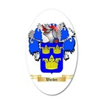 Warder 35x21 Oval Wall Decal