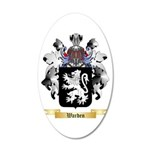 Warden 20x12 Oval Wall Decal