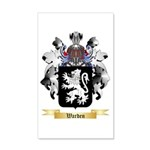 Warden 20x12 Wall Decal