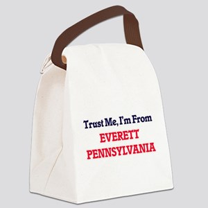 Trust Me, I'm from Everett Pennsy Canvas Lunch Bag