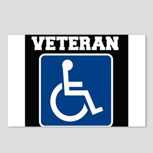 Disabled Handicapped Veteran Postcards (Package of
