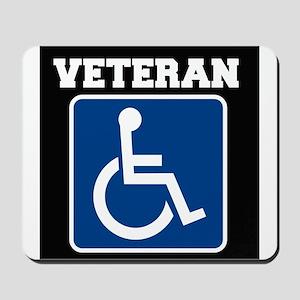Disabled Handicapped Veteran Mousepad