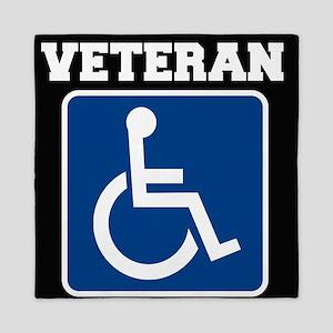 Disabled Handicapped Veteran Queen Duvet