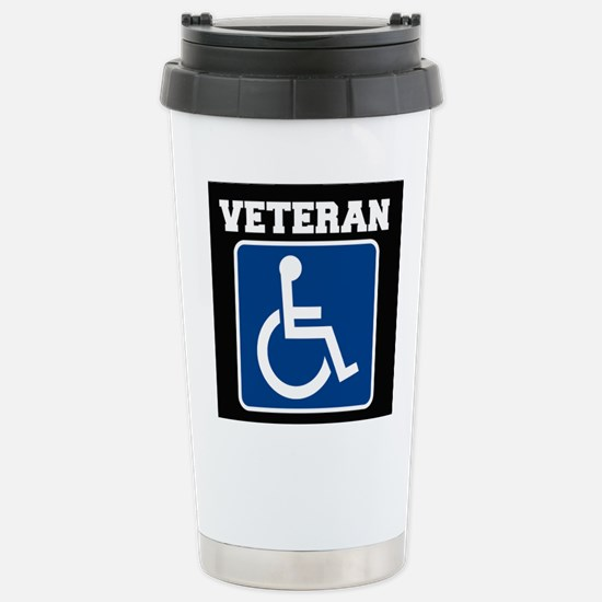 Disabled Handicapped Veteran Travel Mug