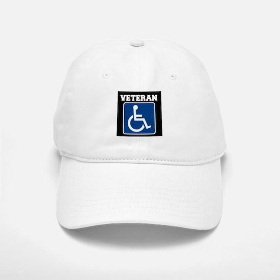 Disabled Handicapped Veteran Baseball Baseball Baseball Cap