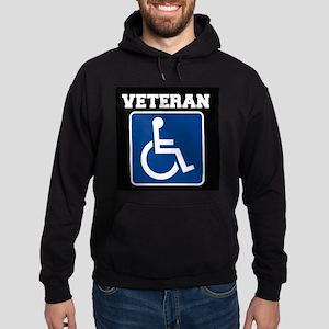 Disabled Handicapped Veteran Hoodie