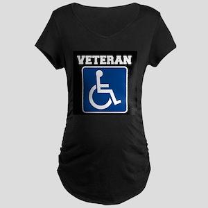 Disabled Handicapped Veteran Maternity T-Shirt