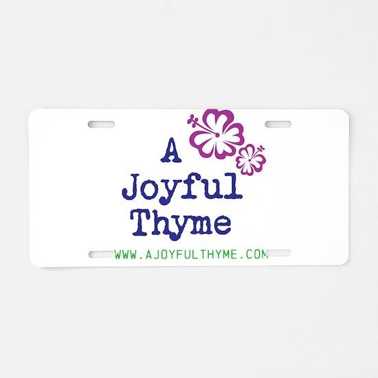 Funny Website Aluminum License Plate