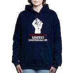 Introverts Unite v2 Women's Hooded Sweatshirt