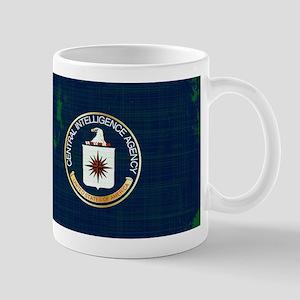 CIA Flag Grunge Mugs