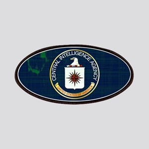 CIA Flag Grunge Patch