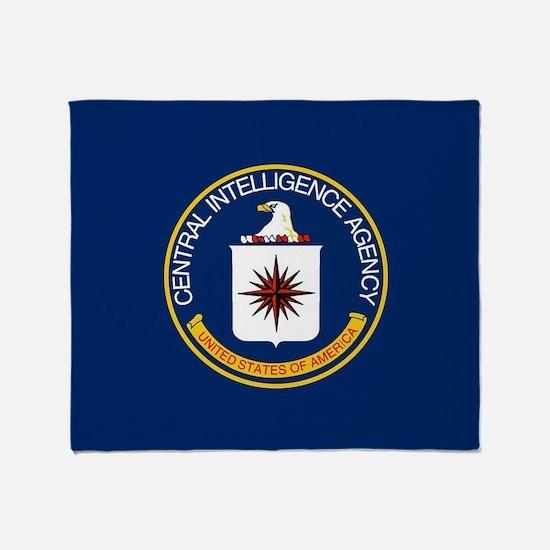 CIA Flag Throw Blanket