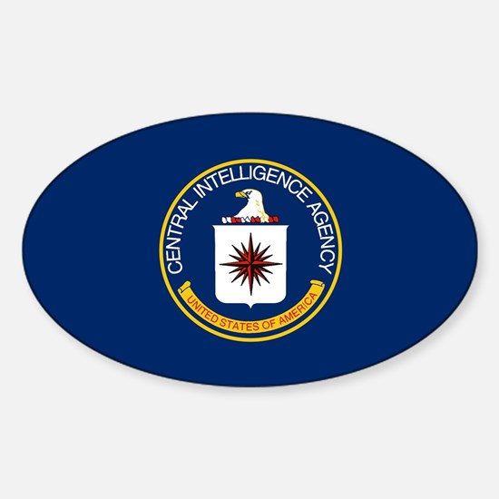 CIA Flag Decal