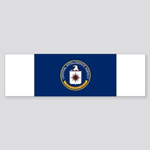 CIA Flag Bumper Sticker