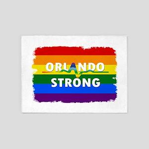 Orlando Strong Pulse 5'x7'Area Rug