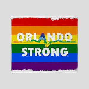 Orlando Strong Pulse Throw Blanket