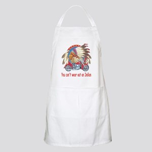 You can't wear out an indian BBQ Apron