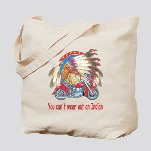 You can't wear out an indian Tote Bag