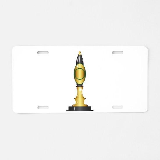 Beer Pump Handle Aluminum License Plate
