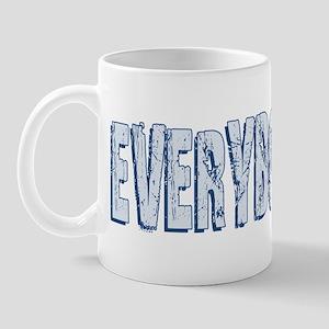 Retro Everybody Lies Mug