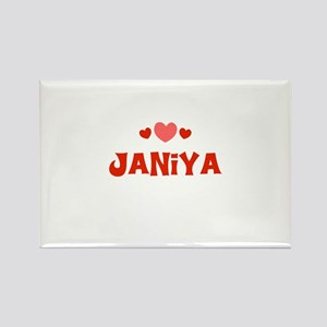 Janiya Rectangle Magnet