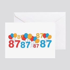 87 years old - 87th Birthday Greeting Cards