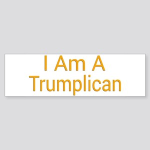 I Am A Trumplican Bumper Sticker