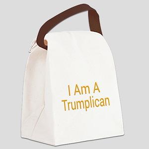 I Am A Trumplican Canvas Lunch Bag