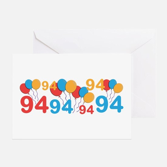 94 years old - 94th Birthday Greeting Cards