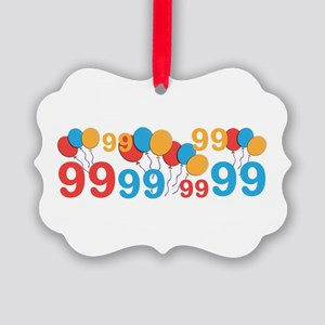 99 years old - 99th Birthday Ornament