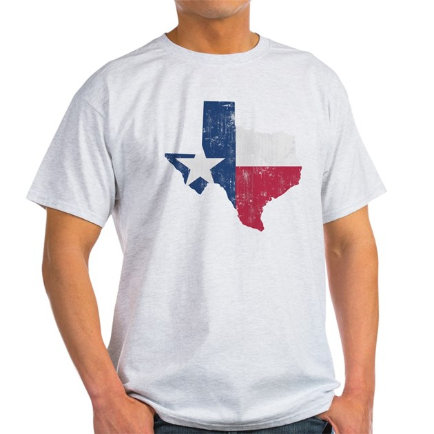 Vintage texas state outline flag t shirt by admin cp3217356 for Texas tee shirt company